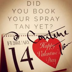 Downtown Campbell: Treat yourself! We still have openings available. Book now #couturetan #valentinestanning #vday #booknow #spraytanning #airbrushtanning #downtowncampbell #courtyardshops #bronze #glow #glowing #flawlesstan #naturaltan by couturetanairbrush