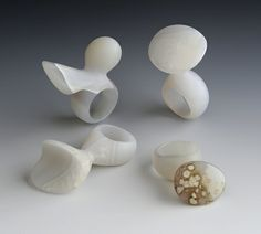 Sanni Falkenberg, Set of Agate Rings,