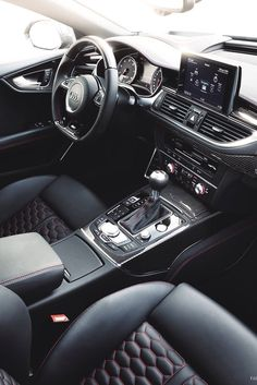 Audi RS7 sportsback interior