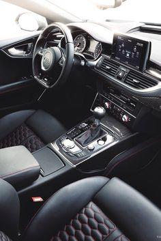 Audi RS7 sportsback interior