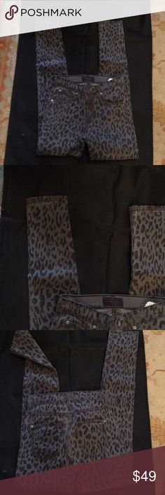 James jeans James jeans black and gray spotted jeans James Jeans Jeans Skinny