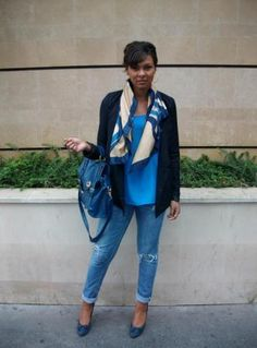 Look premier jour de cours - Fanny, 25 ans, en master 2 commerce, spécialisation négociation d'affaires