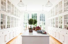 now this is a butlers pantry At Home with Carolyne Roehm - The Glam Pad