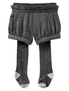 pleated shorts with tights | Baby Gap