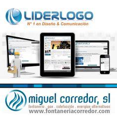 #Diseño de pagina #web y otras aplicaciones para el #logotipo de su empresa en www.liderlogo.com