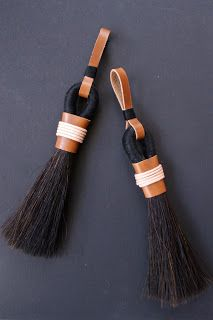 Jessica Light Trims and Tassels offer a bespoke design and colour-matching service. We can either change the colour, size etc of . Diy Tassel, Tassels, Brooms And Brushes, Wood Bead Garland, Passementerie, Macrame Patterns, Crafty Craft, Leather Accessories, Yarn Crafts