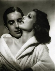 hurrell shoots tyrone power and loretta young