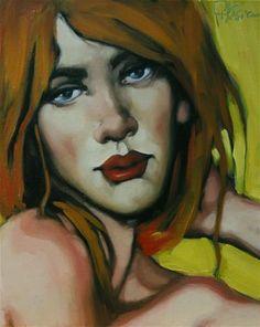 "Daily Paintworks - ""Cascade"" - Original Fine Art for Sale - © Kayleen Horsma"