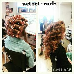 100 wet set with rollers ideas in 2020  wet set hair