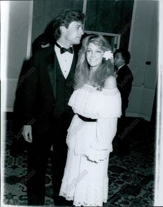 CA67 1986 Young Heather Locklear John James Dynasty Stars Beverly Hills Photo