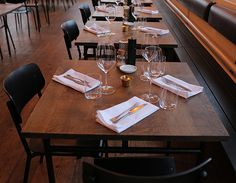 Smith and de Luma - pfeffermint Zurich, Building Design, Table Settings, Branding, Construction, How To Plan, Interior Design, Architecture, Furniture