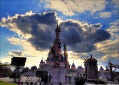 Le château de la belle au bois dormant Disneyland Paris Castle, Hdr, Parks, Sleeping Beauty, Parkas