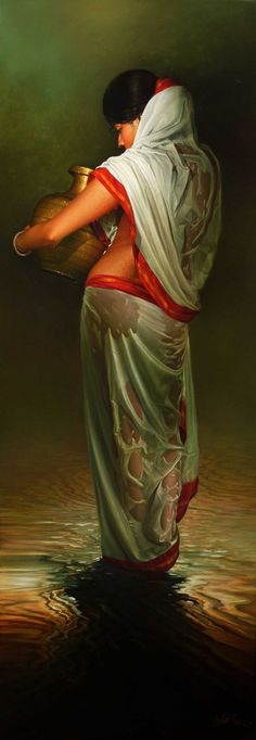 wet woman Amit Bhar | Paintings | Pinterest | Women's and Posts www.pinterest.com664 × 1920Buscar por imagen