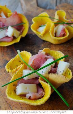 Cestini salati veloci senza sfoglia ricetta antipasto vickyart arte in cucina