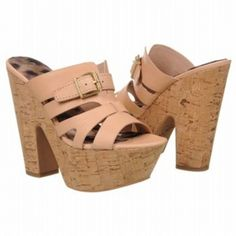 SALE - Sam Edelman Chase Platform Heels Womens Natural Leather - Was $150.00 - SAVE $30.00. BUY Now - ONLY $120.00.