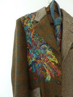 Мужские пиджаки с вышивкой / Вышивка /
