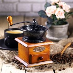 Ручная кофемолка Hot Contents Бразилия
