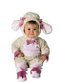Baby Lucky Lil Lamb Costume - Baby Girl Costumes - Infant, Baby Costumes - Baby, Toddler Costumes - Halloween Costumes - Categories - Party City
