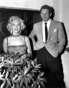 Marilyn Monroe and Danny Kaye - marilyn-monroe Photo