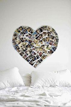 Paredes decoradas con fotografías, ideas de bricolaje, inspiración, fotos de ambientes.