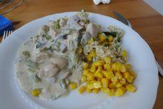 Když se zdravě vaří, hubnutí se daří :-) - Masová směs s kukuřičnými těstovinami - Album uživatelky llluckaaa - Foto 54 Risotto, Grains, Meat, Chicken, Ethnic Recipes, Food, Essen, Meals, Seeds