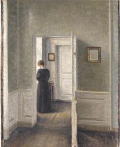 Vilhelm Hammershoi Biography, Works of Art, Auction Results ...