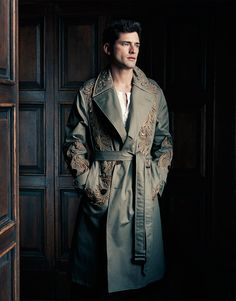 Supermodel Sean O'Pry takes the cover story of Harper's Bazaar Man Taiwan's March 2017 edition captured by fashion photographer Matt Holyoak. Sean O'pry, Harpers Bazaar, Handsome Boys, Male Models, Character Inspiration, Editorial Fashion, Beautiful Men, How To Look Better, Fashion Design