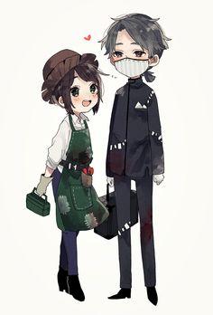 Anime Chibi, Kawaii Anime, Anime Art, Anime Couples, Cute Couples, Id Identity, V Cute, Nisekoi, Cute Stories