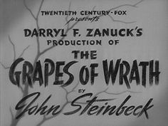 The Grapes of Wrath (1940) Blu-ray movie title