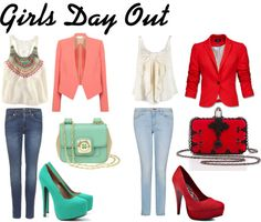 Girls Day Out #1, created by peetalover55 on Polyvore