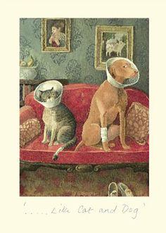 """Alison Friend """"Little cat & dog!"""""""