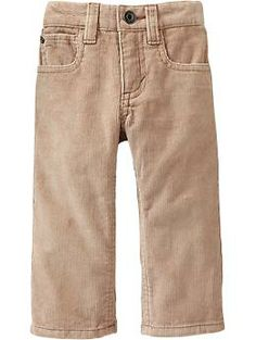 Straight-Leg Cords for Baby | Old Navy - Z