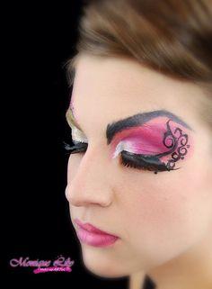 Pretty in #pink #eyedesign #mehroneurope #mehron