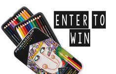 Win Prismacolor Premier Colored Pencils Set (24 pack)