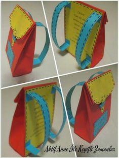 Children gift Scorecard gift School bag near the report card- Çocuklara hediye Karne hediye Okul çantası Karnenin yanında minik hediye, Gift to children Report card Gift School bag Tiny gift near the report card, # …, # Bag # Children - Back To School Party, Pre School, School Bags, Back To School Crafts For Kids, Tiny Gifts, School Themes, Preschool Activities, Teacher Gifts, Gifts For Kids