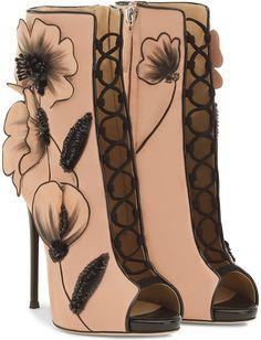 Giuseppe Zanotti 'June' Lace-Up Boots