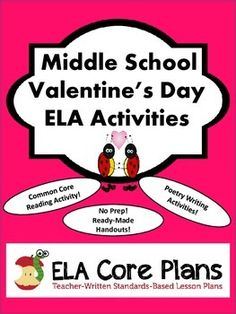 fun valentine 39 s day activities middle school ela. Black Bedroom Furniture Sets. Home Design Ideas