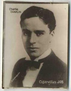 Charlie Chaplin 1926 Societe Job Tobacco Card