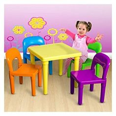 Amazon.com: BUY NOW ! Kids Table and Chairs Play Set Toddler Child Toy Activity Furniture In Outdoor & Toys & Games , Sports & Outdoor Play: Patio, Lawn & Garden