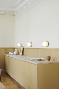 Krüger's first Public Showroom in the Company's Year History – Modern Home Office Design Ikea Hack, Kitchen Interior, Kitchen Decor, Kitchen Ideas, Kitchen Trends, Küchen Design, House Design, Nordic Design, Art Deco Decor