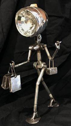 Welding Art Projects, Metal Art Projects, Metal Crafts, Diy Projects, Metal Sculpture Artists, Steel Sculpture, Sculpture Ideas, Art Sculptures, Metal Tree Wall Art