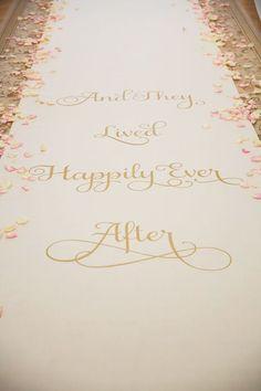 Er was eens een meisje wiens leven kleur kreeg van dromen over later, trouwen…