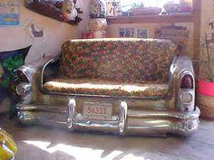 Rat Rod Roadmaster Couch. I like it!