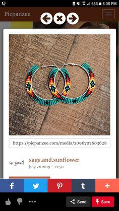 Beaded Earrings Native, Beaded Earrings Patterns, Tribal Earrings, Beaded Bracelets, Seed Bead Crafts, Seed Bead Jewelry, Seed Bead Earrings, Twerk Twerk, Bead Loom Designs