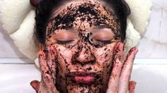 homemade face mask best masks for oily skin and dry skin Mask For Oily Skin, Oily Skin Care, Homemade Face Masks, Diy Face Mask, Dry Skin Causes, Diy Peeling, Coffee Face Scrub, Simple Face, Exfoliate Face