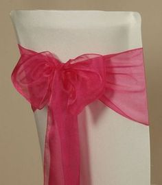 Organza chair sash- I have that coming! Wedding Stuff, Dream Wedding, Wedding Ideas, Chair Sashes, June 8, Getting Engaged, Marry You, Bat Mitzvah, Happily Ever After