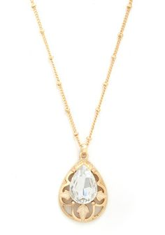 Drop of Dazzling Necklace, #ModCloth, this reminds me of Stardust!
