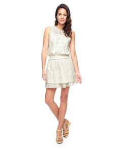 Juicy Couture   Angel Cotton Embroidered Cotton With Lace Dress, Xs