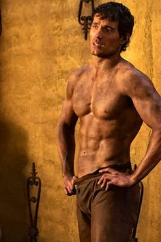 Henry Cavill- the prime benefit of watching The Immortals.