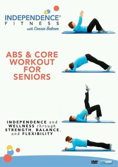Independence Fitness: Abs  Core Workout for Seniors (DVD, 2016)